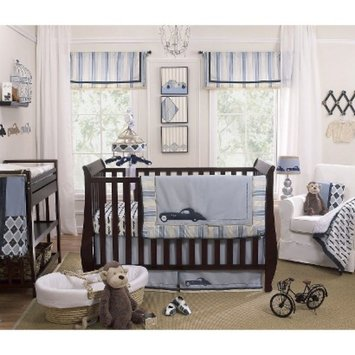 Luca 4pc Crib Bedding Set by Petit Tresor
