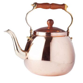 Old Dutch International Copper 4-qt. Solid Tea Kettle