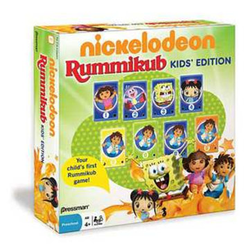 Rummikub Nickelodeon Game Ages 4 and up, 1 ea