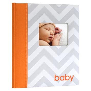 Pearhead Babybook Chevron - Orange