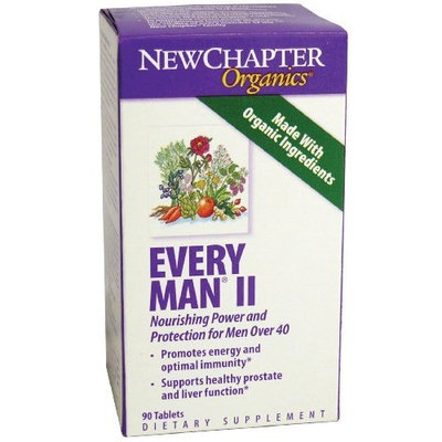 New Chapter Chapter Every Man II Multivitamins, 90 Count