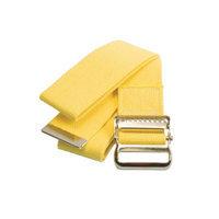 Medline Washable Cotton Gait Belts, Yellow MDT821203Y