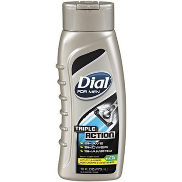 Dial® for Men Triple Action Body Wash Triple Action