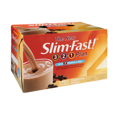 SlimFast 3.2.1 Plan Cappuccino Delight Shakes