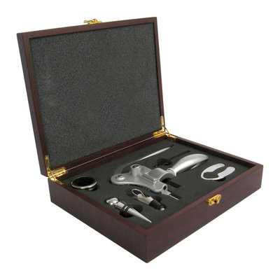 Test Quest K209-001 Deluxe Corkscrew in Wood Gift Box