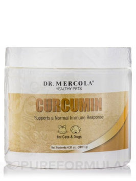Dr Mercola Curcumin for Healthy Pets - 122g