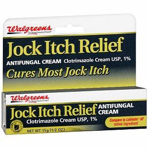 Walgreens Jock Itch Relief Antifungal Cream