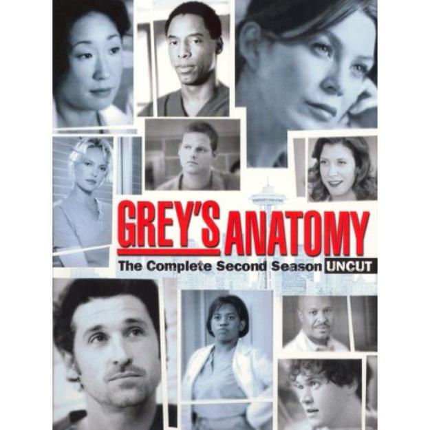 Buena Vista Grey's Anatomy: The Complete Second Season [6 Discs]