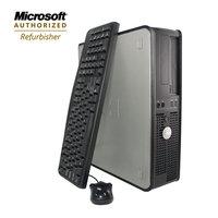 Flush Enterprises Dell Refurbished desktop opti 755 Core2Duo 2.3GHz 2GB 160GB HDD CDRW/DVD Win7HP