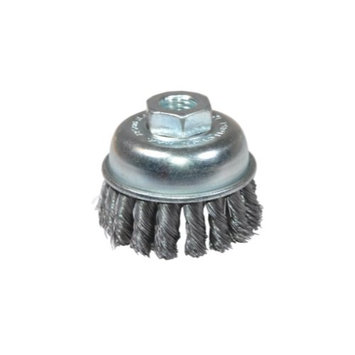 K Tool International 79220 2-3/4-inch Knotted End Wire Cup Brush - Extra Coarse