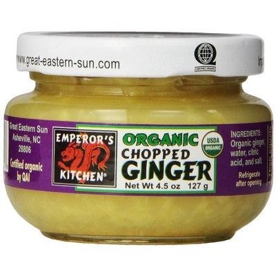 Emperors Kitchen Chopped Ginger, 4.5-Ounce (Pack of 6)