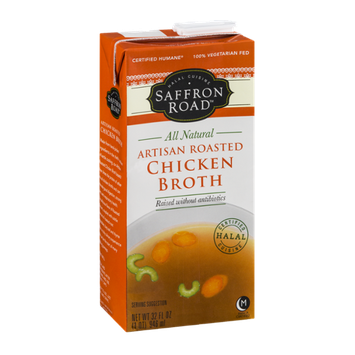Saffron Road Artisan Roasted Chicken Broth
