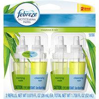 Febreze NOTICEables Meadows & Rain Air Freshener Refill (2 Count