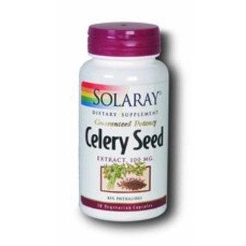 Solaray - Gp Celery Seed Extract, 100 mg, 30 capsules [Health and Beauty]