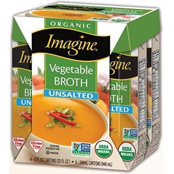 Imagine Foods BROTH, OG2, VEGETABLE, NS, (Pack of 6)