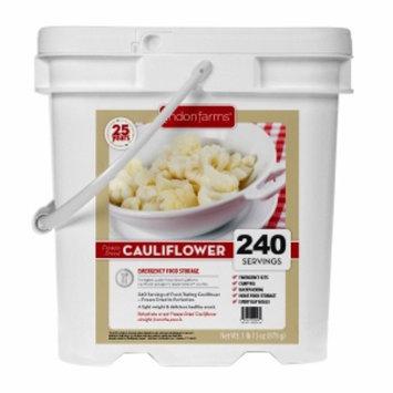 Lindon Farms Freeze Dried Cauliflower, 240 Servings, 1 ea