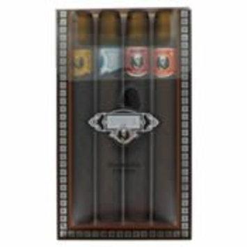 Cuba Blue By Fragluxe Gift Set -- Cuba Variety Set Includes All Four 1.15 Oz Sprays, Cuba Red, Cuba Blue, Cuba Gold And Cuba Orange For Men