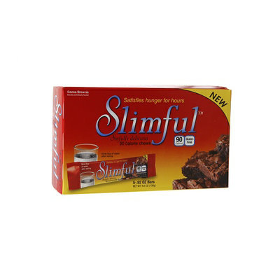 Slimful Sinfully Delicious 90 Calorie Chew Cocoa Brownie