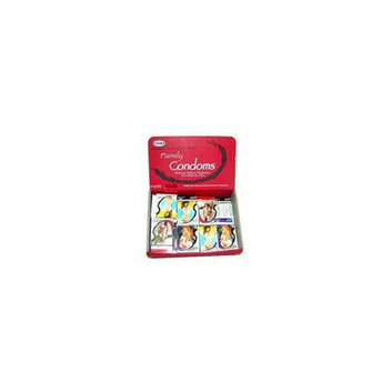 Bulk Buys Latex condom display Case Of 24