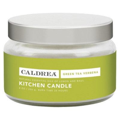 Caldrea 8 Ounce Green Tea Verbena Kitchen Candle