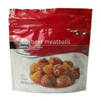 Market Pantry Fully Cooked Beef Meatballs 28-oz.