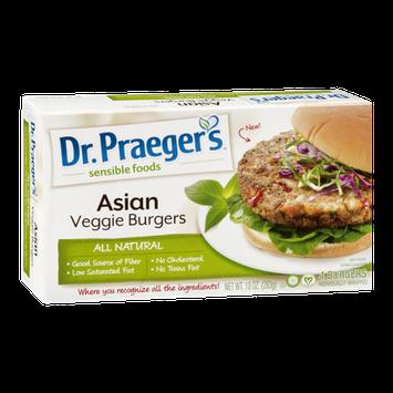 Dr. Praeger's Sensible Foods Asian Veggie Burger - 4 CT