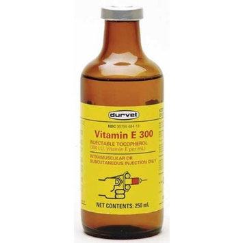 Durvet 002-2403 Vitamin E-300 Inj. for Livestock 250 ml