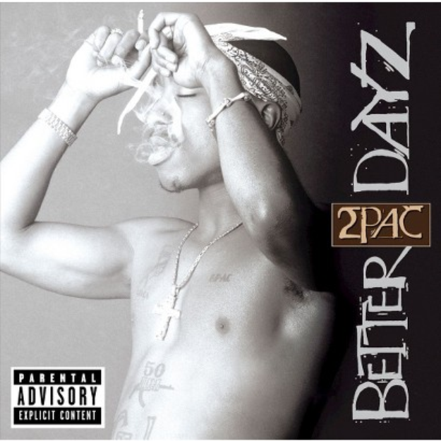 Interscope Records BETTER DAYZ BY SHAKUR, TUPAC (CD) [2 DISCS]
