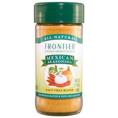 Frontier Seasoning Blends Salt-free Mexican Seasoning, 2-Ounce Bottles (Pack of 6)