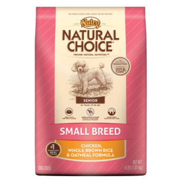 Nutro Natural Choice NUTROA NATURAL CHOICEA Small Breed Senior Dog Food
