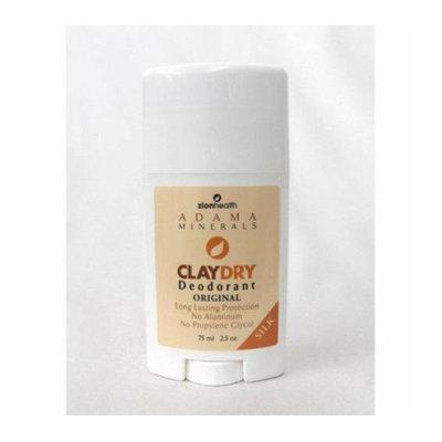 Zion Health Claydry Silk Deodorant Original 2.5 oz