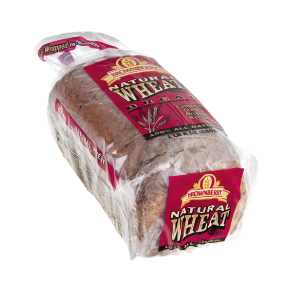 Brownberry Bread Natural Wheat 100% All Natural