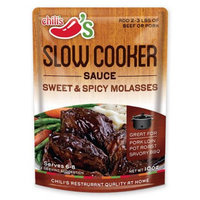 Sweet Molasses Chili's Sweet & Spicy Molasses Slow Ckr