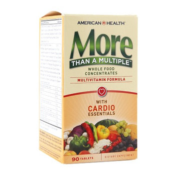 American Health More Than A Multiple Multivitamin Formula with Cardio Essentials, Tablets, 90 ea