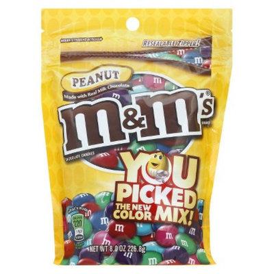 M&M's Peanut Chocolate Candy 8 oz