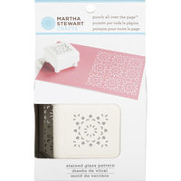 Martha Stewart Crafts® Punch All Over The Page - Stained Glass