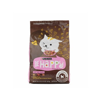 Be Happy Cat Food