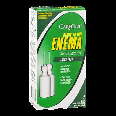 CareOne Ready To Use Enema Latex Free