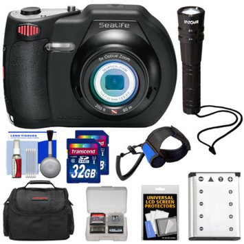 SeaLife DC1400 14MP HD Underwater Digital Camera with (2) 32GB Cards + Battery + Case + LED Torch + Accessory Kit