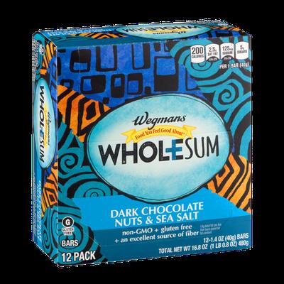 Wegmans Food You Feel Good About Wholesum Dark Chocolate Nuts & Sea Salt Bar