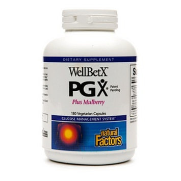 Natural Factors WellBetX PGX Plus Mulberry