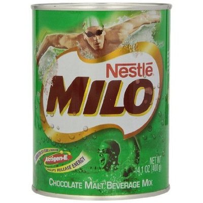 Nestlé Milo Malt Beverage Mix, Chocolate, 14.1 -Ounce
