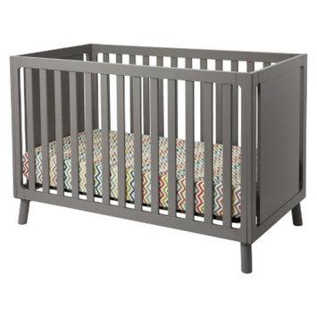 Delta Children Manhattan 3-in-1 Crib - Classic Grey