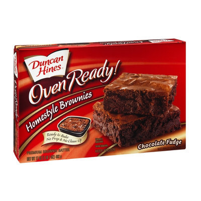 Duncan Hines Oven Ready! Homestyle Brownie Batter Chocolate Fudge
