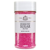India Tree Sparkling Sugar - Hot Pink - 3.5 oz