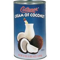 Costamar Cream of Coconut, 57-Ounce (Pack of 3)