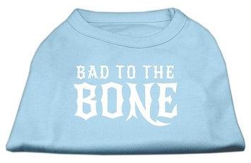 Ahi Bad to the Bone Dog Shirt Baby Blue Sm (10)