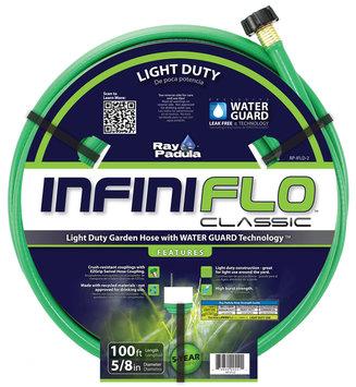 Ray Padula InfiniFlo Classic Light Duty 5/8 x 100 Garden Hose - COMMERCE LLC