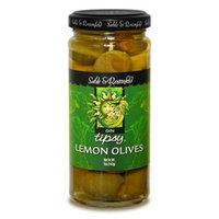 Sable and Rosenfeld Sable & Rosenfeld Gin Fizzed Lemon Stuffed Tipsy Olives, 5-Ounce Glass Jars (Pack of 6)