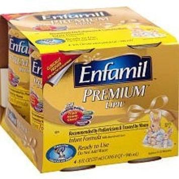Mead Johnson Enfamil 4 Pack Premium Ready to Feed Formula - 8 oz.